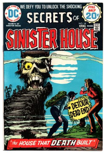 Secrets of Sinister House #18 - Very Fine+