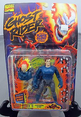 Marvel Comics 6'' Ghost Rider 2 Transforming Action Figure 1995 ToyBiz NEW
