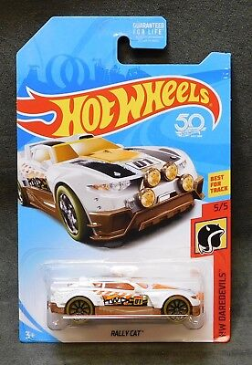 2018 Hot Wheels Car Rally Cat - B or C or D Case