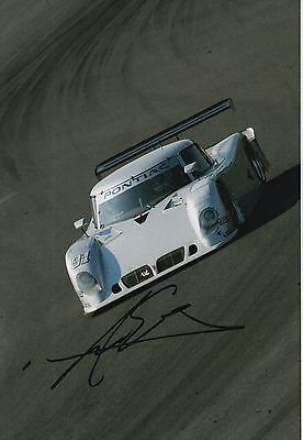 Marc Goossens Hand Signed 12x8 Photo Grand-Am Rolex Sports Car Series.