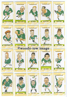 TC0001 - Rugby World Cup 1995 - Ireland - Daily Telegraph Full Set of 26 cards