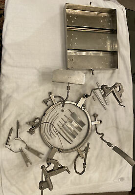 Omi Surgical Orthopedic Neuro Budde Halo System W Case 82507