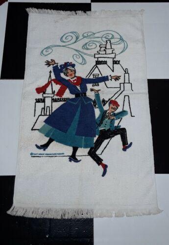 VINTAGE MARY POPPINS TOWEL WALT DISNEY PRODUCTIONS WAMSUTTA HERITAGE TOWEL