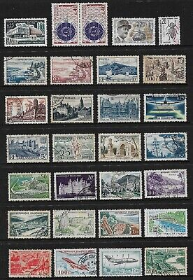 FRANCE mixed collection No.119, incl joined pair, used