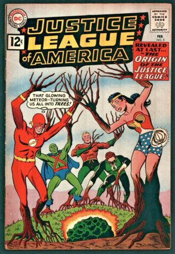 Justice League of America #9 Silver Age DC 6.0