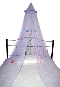 KIDS BED CANOPY MOSQUITO NET SUITS SINGLE / COT BED