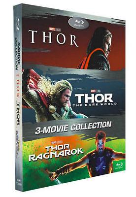 Thor 3 Movie Collection  Blu Ray Box Set  1 3   Thor  Dark World  Ragnarok   New