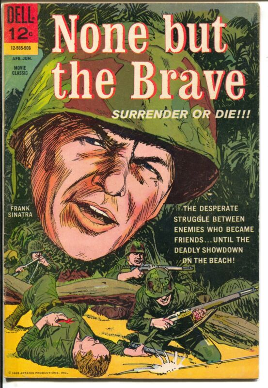 None But The Brave #12-565-506 1965-Dell-Frank Sinatra-Clint Walker-VG