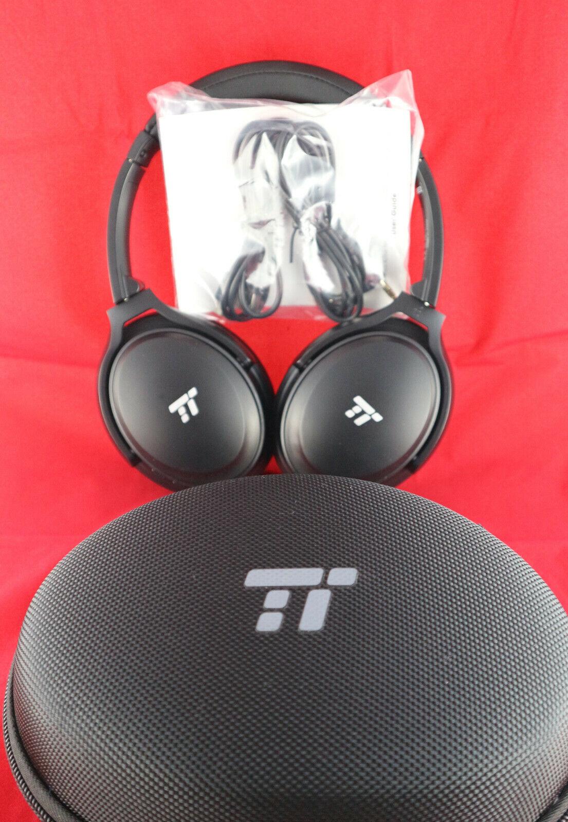 TaoTronics TT-BH22 Aktive Geräuschunterdrückung ,, Bluetooth-Headset, Over Ear,