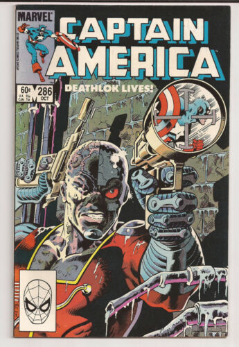 Captain America #286 (1983) VF+
