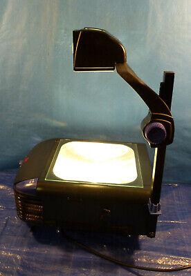 3m 1800 Series Overhead Projector With 2 New Enx 360 Watt Bulbs Fold Down Arm