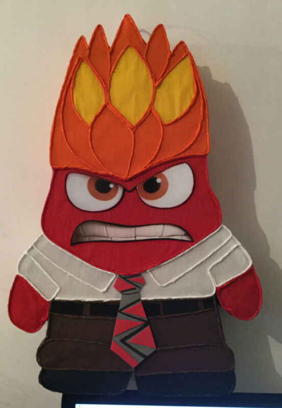 Anger Pinata, inside out