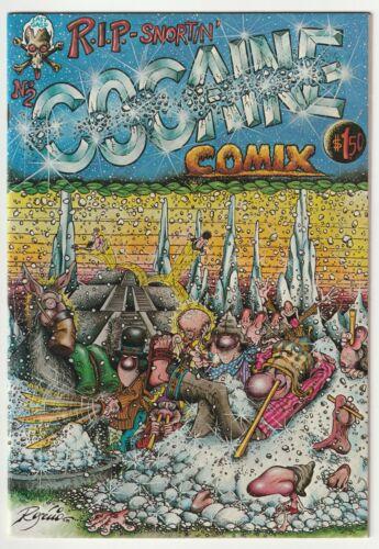 Cocaine Comix #2 - 1st Print  - 1980 Last Gasp - Classic Underground  C2