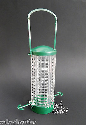 Hanging & Pole Mountable Wild Bird Feeder Includes Wild Bird Tips+Feeding Guide