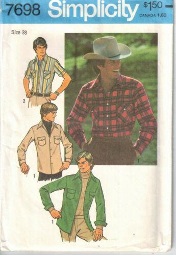 Vtg 1976 Simplicity Men