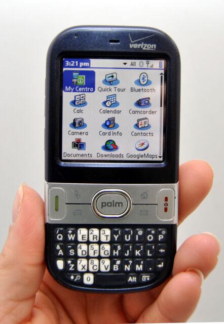 Palm Centro Verizon Wireless PDA Cell Phone Dark BLUE Smartphone Qwerty CDMA -B-