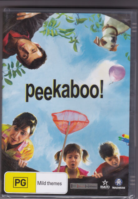 Peekaboo - DVD (France Subtitles in English Region 4 Brand New Sealed)