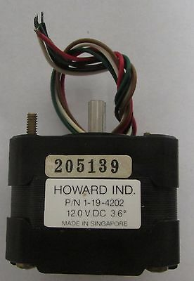 Howard Industries 1 19 4202 12 Vdc Servo Motor 205139