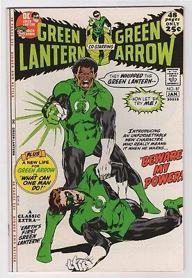 Green Lantern #87 (Dec 1971-Jan 1972, DC) 1st John Stewart NM 9.4