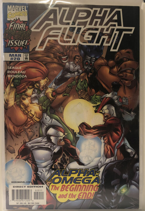 Alpha Flight Vol.2 #20 (1999) NM- Cond