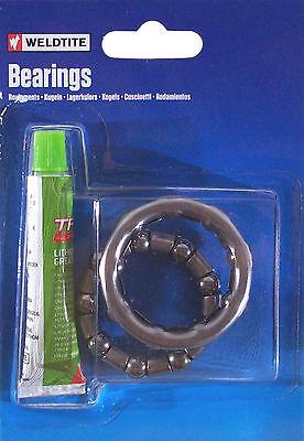 Weldtite Bike Bmx Set Ball Bearing Lithium Grease Lubricant Bearings Wheel Hub
