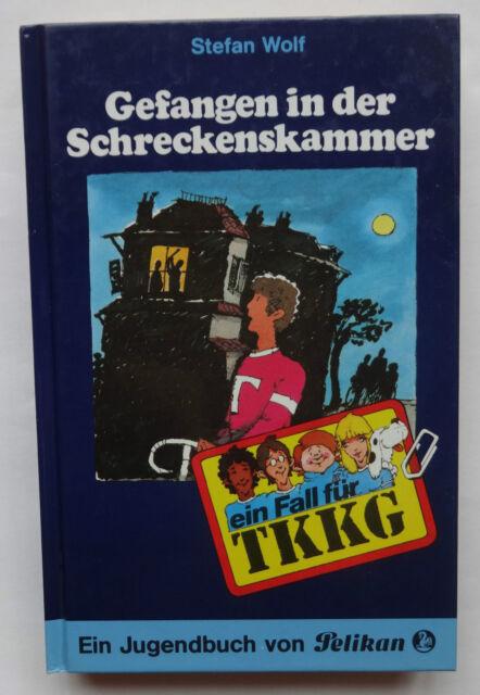 Ein Fall für TKKG Gefangen in der Schreckenskammer Jugendbuch Pelikan Wolf