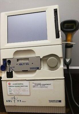 Radiometer Copenhagen Abl 77 Series Ph Blood Gas Electrolyte Analyzer Analyser