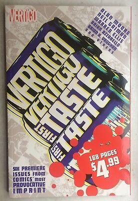 VERTIGO FIRST TASTE..2005 tpb..NM unread 1st print