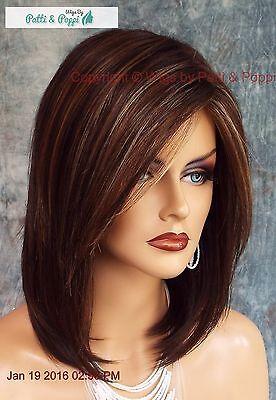 JACKSON NORIKO WIG BROWN MEDIUM LENGTH *STUNNING SEDUCTIVE *CHOCOLATE SWIRL 551 Adult Brown Seduction Wig