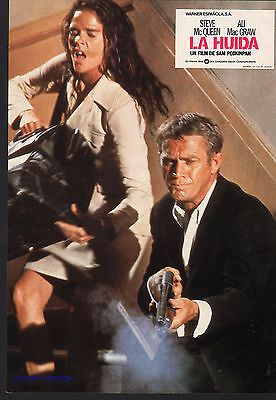 SAM PECKINPAH'S THE GETAWAY 9 ORIG SPANISH LOBBY CARDS STEVE MCQUEEN ALI MACGRAW