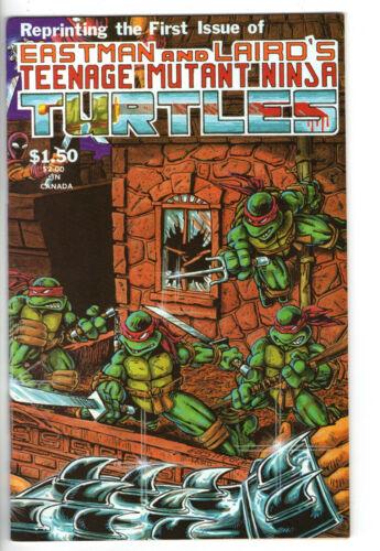 TEENAGE MUTANT NINJA TURTLES #1 - 4th (1984) - Grade 9.4 - 4th printing!