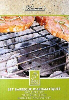 KRÄUTERSET BBQ BARBECUE RÄUCHERN GEWÜRZ GRILLEN GRILLKRÄUTERSET KURNOLDS 0350