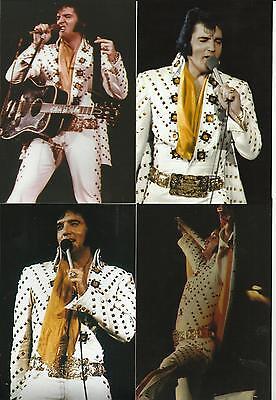 Elvis Presley: COLOR Photo Set of 9, Jacksonville,FL 4/72 & FREE CD