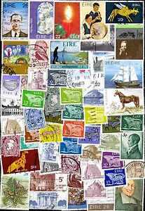 """Irlande - Eire 500 timbres différents - France - Commentaires du vendeur : """"collection de timbres différents"""" - France"""