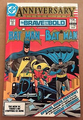 The Brave And The Bold #200 1st Appearance Of Batman and The