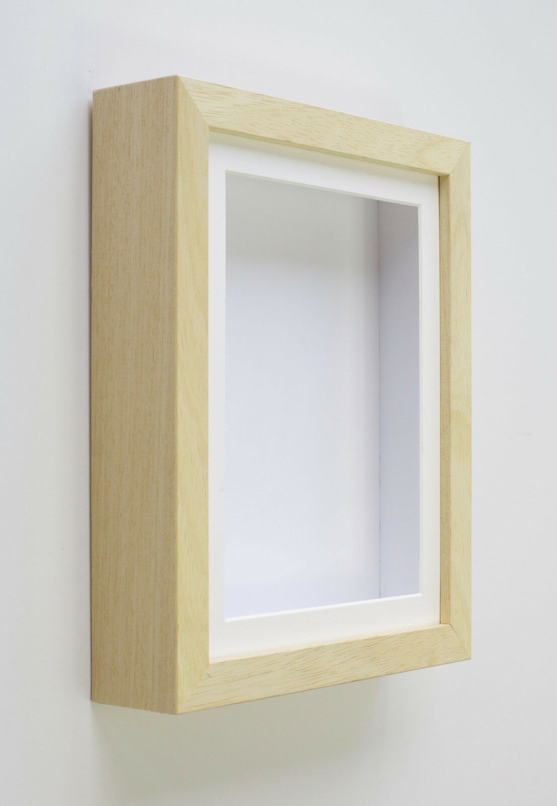 Wooden Box Frames Deep Shadow For Baby