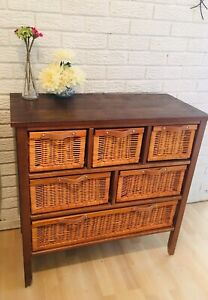 Wicker cabinet in great condition