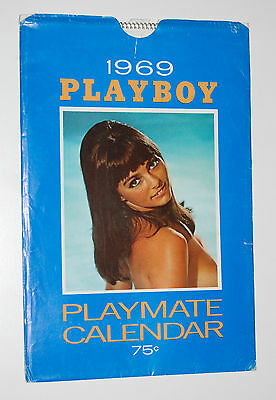 Playboy Playmate 1969 Wall Calendar (Fine -) W/Original Sleeve (Good +)