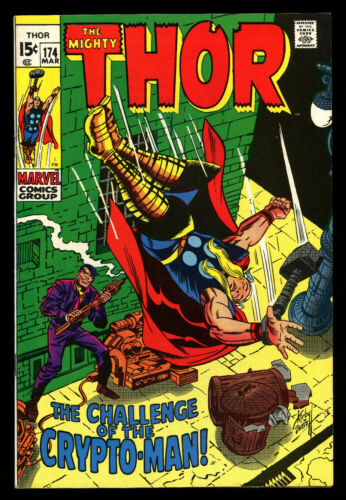 Thor #174 (Marvel, 1970) #Kirby
