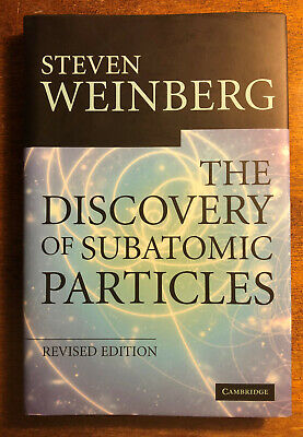 Steven Weinberg Nobel Prize Physics Signed The Discovery of Subatomic Particles