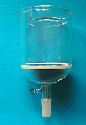 1000ml2440glass Buchner Funnel1l3 Coarse Filterw10mm Vacuum Adapter