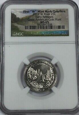 2019-W NGC MS65 RIVER NO RETURN W MINT QUARTER Park 65 Sa040 - $19.95