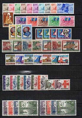 Belgisch Congo Belge - Rep. Congo Kinshasa Collection MNH sets (1) c21.55Eu.