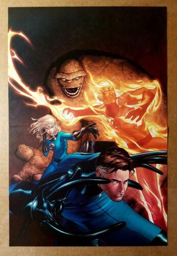 Fantastic Four Marvel Comics Poster by Steve McNiven