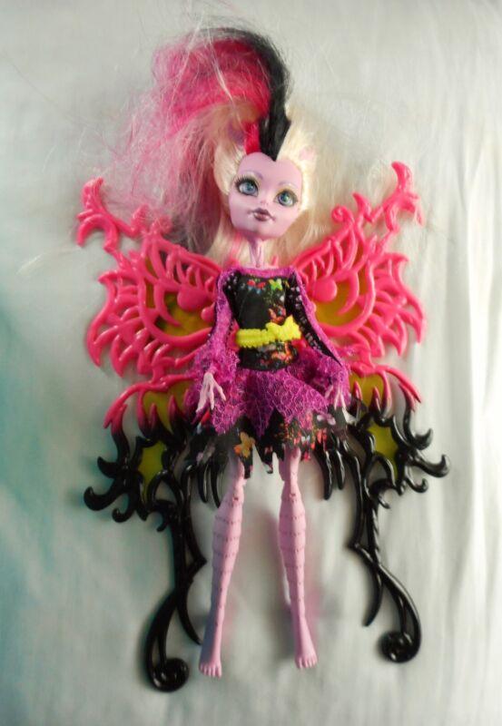 Freaky Fusion Bonita Femur Replacement Dress Pink Black Butterfly
