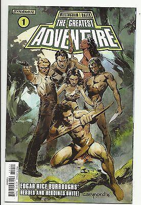 Greatest Adventure #1 - Tarzan - Edgar Rice Burroughs' Heroes - Dynamite  NM 9.4