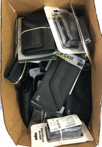 Wholesale Bulk Lot 40 pc Holster Clip Cases LG Wine II Sonim - Shelf Pulls