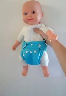 Newborn modern cloth nappies (mcns)