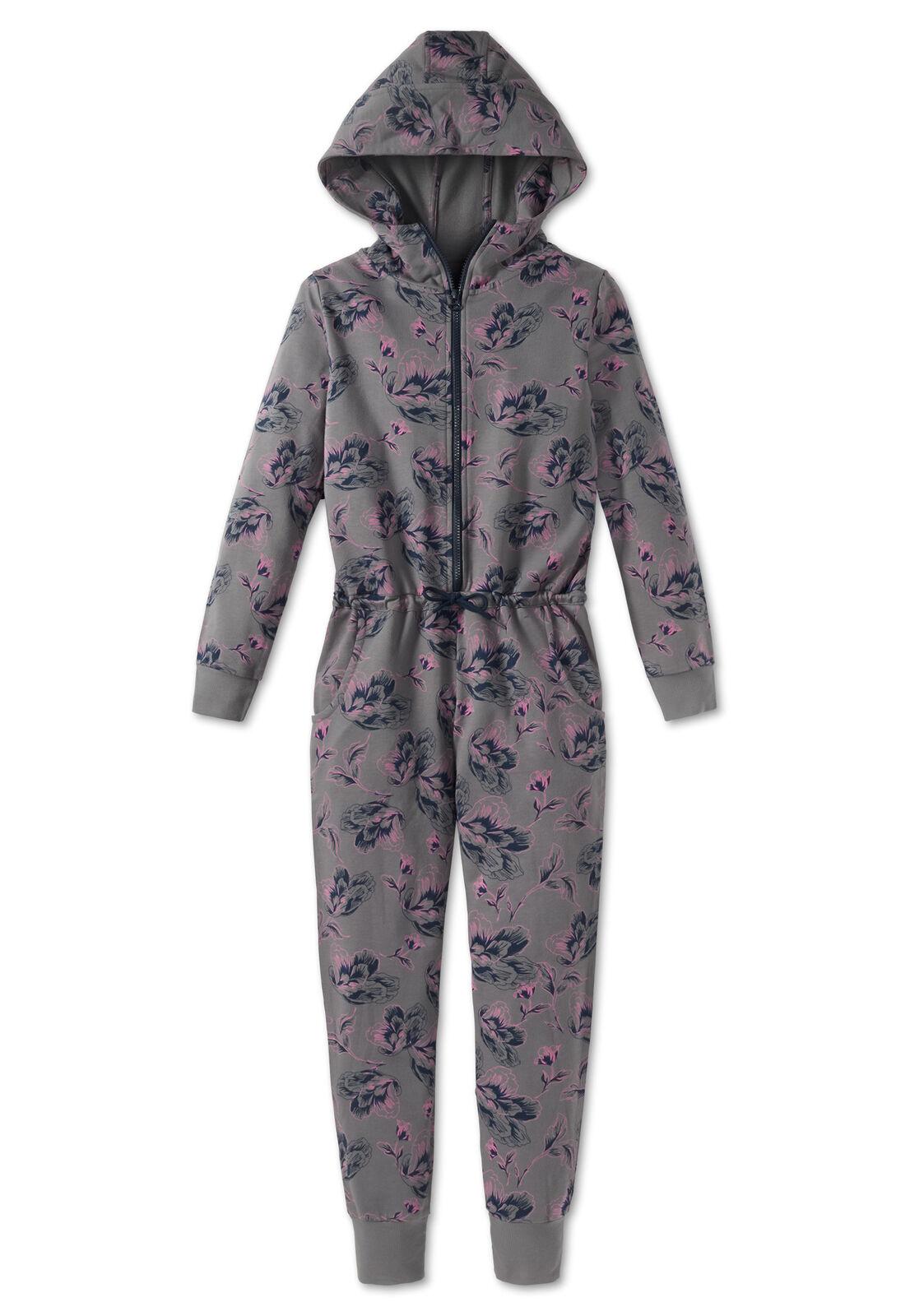 SCHIESSER Mix&Relax Mädchen Schlafanzug Pyjama Jumpsuit Overall NEU*UVP 59,95