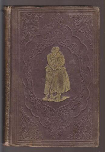 1854 BOOK - PAUL AND VIRGINIA - BY BERNARDIN DE SAINT PIERRE